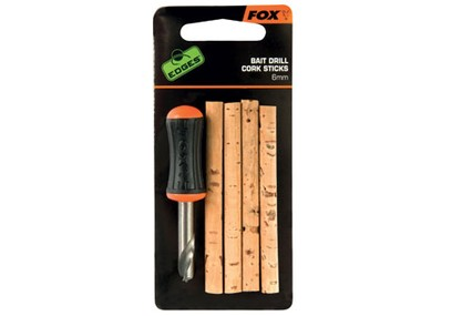 FOX EDGES BAIT DRILL & CORK STICKS 6 MM