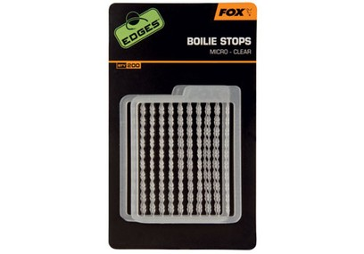 FOX EDGES BOILIE STOP STANDARD CLEAR 200 PZ.
