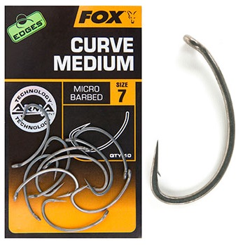 FOX CURVE MEDIUM micro barbed