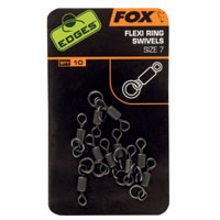 FOX EDGES FLEXI RING SWIVEL N° 7