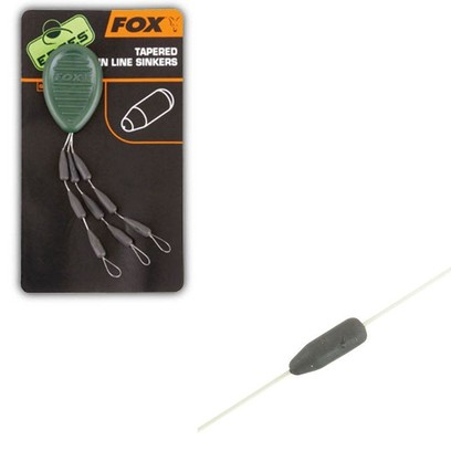 FOX EDGES TAPERED MAIN LINE SINKERS