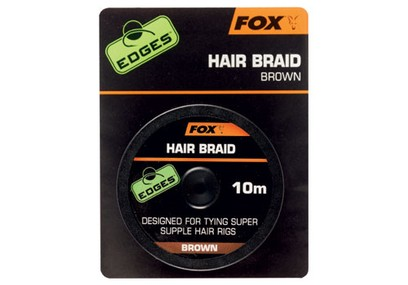 FOX EDGES HAIR BRAID BROWN