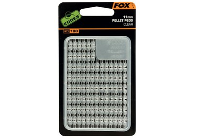 FOX EDGES PELLET PEGS CLEAR 11 MM 180 PZ.