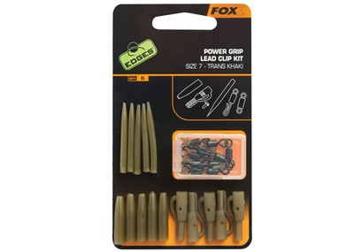 FOX EDGES POWER GRIP LEAD CLIP KIT SIZE 7 ( 5 PEZZI )