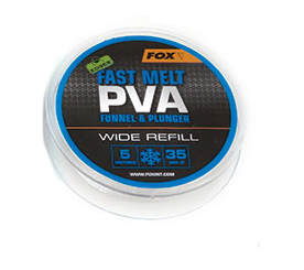 FOX EDGES PVA MESH REFILL WIDE ( 35MM ) 5 MT