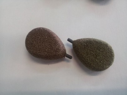 KORDA PIOMBO TEXTURE FLAT PEAR IN LINE