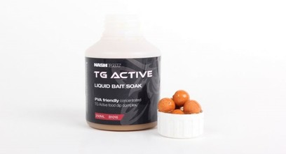 NASH TG ACTIVE LIQUID BAIT SOACK 250 ML.