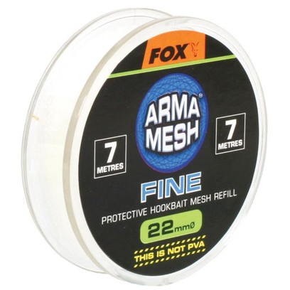 FOX RETE DI RICAMBIO ARMAMESH FINE 22 MM, 7 MT