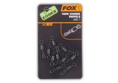 FOX EDGES QUICK CHANGE SWIVEL N° 7