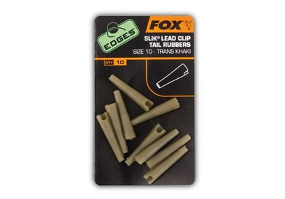 FOX EDGES SIZE 7 LEADCLIP TAIL RUBBER KHAKI