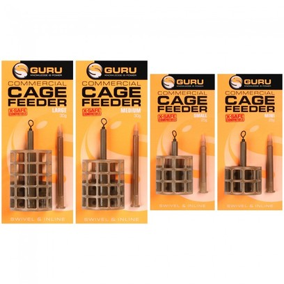 GURU COMMERCIAL CAGE FEEDER SMALL 25 gr.
