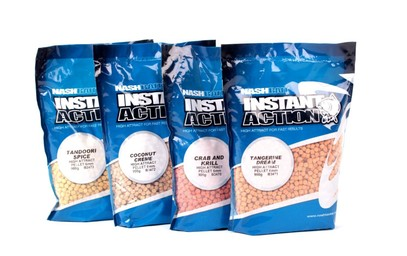 "NASH INSTANT ACTION HIGH ATTRACT PELLET "" TANGERINE DREAM"" 6 MM"