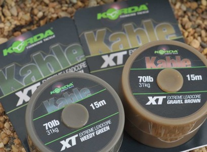 KORDA KABLE XT EXTREME LEADCORE 70 LB 15 MT BROWN