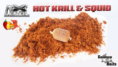 "ESSENCE BAITS "" NEXT LEVEL "" HOT KRILL & SQUID STICK MIX"
