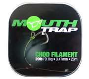 KORDA MOUTH TRAP 25lb • Ø 0,53mm • 20mt