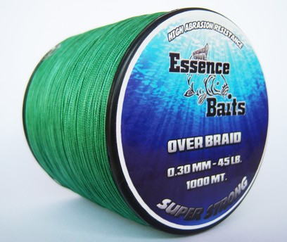 ESSENCE TRECCIA OVER BRAID 1000 MT - 0,30 MM - 45 LB
