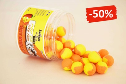 ESSENCE BAITS POP UP TWO TONE HOT KRILL & SQUID 70 GR