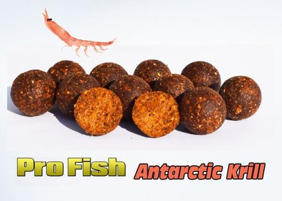 "ESSENCE BAITS "" PRO FISH "" ANTARCTIC KRILL BOILIES 20 MM 3 KG"