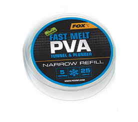 FOX EDGES PVA MESH REFILL NARROW ( 25MM ) 5 MT