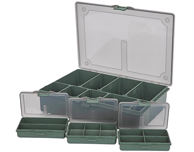 STARBAITS SESSION TACKLE BOX SMALL COMPLETE