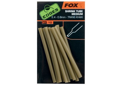 FOX EDGES SHRINK TUBE M 2,4 - 0,8 MM KHAKI