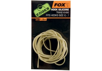 FOX EDGES HOOK SILICONE SIZE 10-7