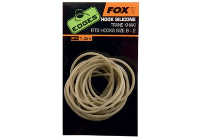 FOX EDGES HOOK SILICONE SIZE 6-2