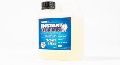 "NASH INSTANT ACTION SPOD SYRUP "" COCONUT CREME "" 1 LITRO"