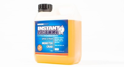 "NASH INSTANT ACTION SPOD SYRUP "" MONSTER CRAB "" 1 LITRO"