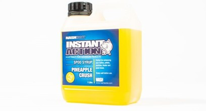 "NASH INSTANT ACTION SPOD SYRUP "" PINEAPPLE CRUSH "" 1 LITRO"
