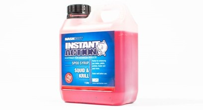 "NASH INSTANT ACTION SPOD SYRUP "" SQUID & KRILL "" 1 LITRO"