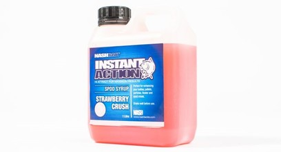 "NASH INSTANT ACTION SPOD SYRUP "" STRAWBERRY CRUSH "" 1 LITRO"